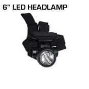 6 LED Headlamp