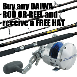 Buy any Daiwa Rod or Reel